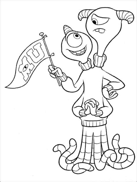 printable coloring pages monsters university monsters inc coloring pages download and print monsters