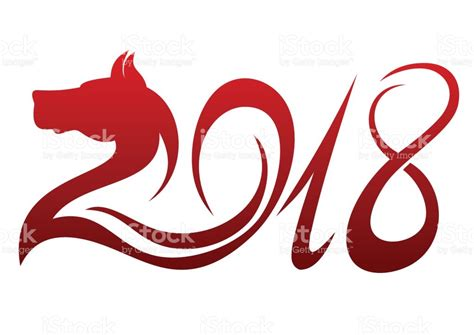 2018 year of the year of the 2018 stock vector 806548022 istock