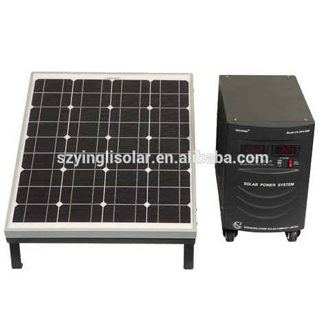 yingli sale 50w solar power generator system for
