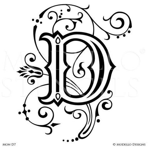 monogram stencils modello 174 designs