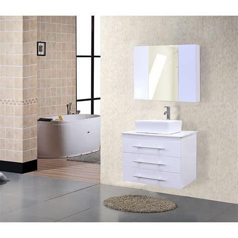 design elements bathroom design element portland 30 quot single sink wall mount vanity