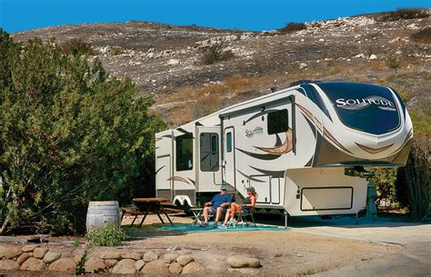 sunnc 360 awning sunnc 360 awning fifth wheel staycation getaway www trailerlife