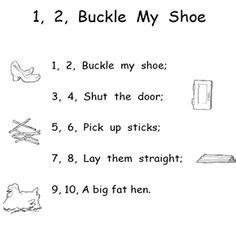 One Two Buckle Shoe Three Four Shut The Door by One Two Buckle Shoe Clip 65