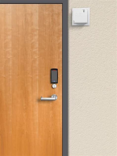 Total Door by Power Supply For Locks Reduces Total Door Power