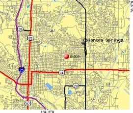 search results for colorado springs zip code map