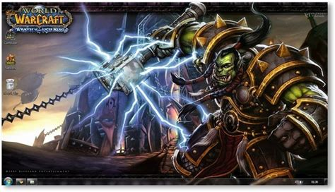 theme windows 10 world of warcraft world of warcraft cataclysm windows 7 theme wallpapers