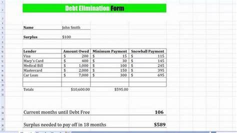 Debt Planner Spreadsheet by Debt Payoff Planner Spreadsheet Buff