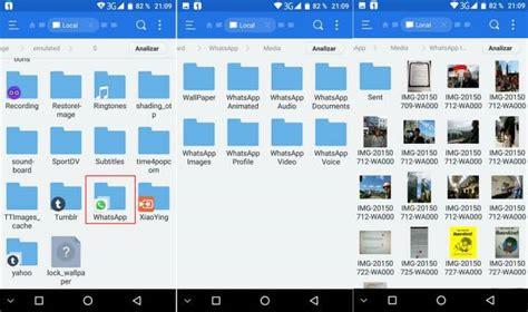 imagenes guardadas android 191 en qu 233 carpeta se guardan las fotos y archivos de whatsapp