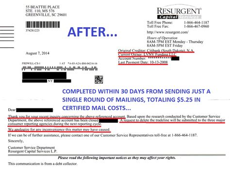 Letter To Credit Bureau To Remove Paid Judgement Credit Repair Diy Only To Remove 3rd Understand Contract And You Win