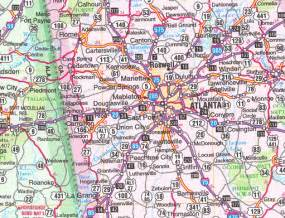 southeast road map map of southeast us cities images