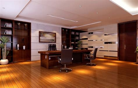 design photos modern ceo office interior design slightly reflective