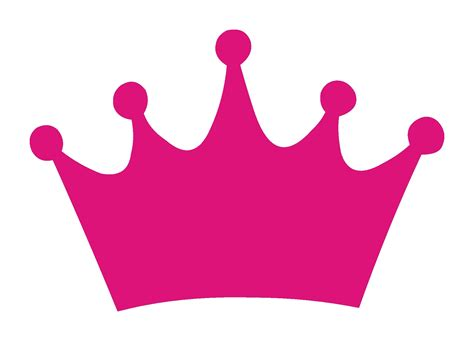 complementary of pink simple pink princess crown clipart cliparts and others
