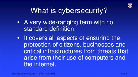 Mba Definition Of Delinquency by Cybersecurity 1 Intro To Cybersecurity