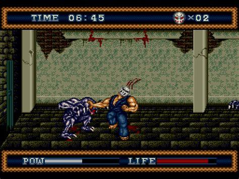 genesis house 3 splatter house 3 screenshots gamefabrique