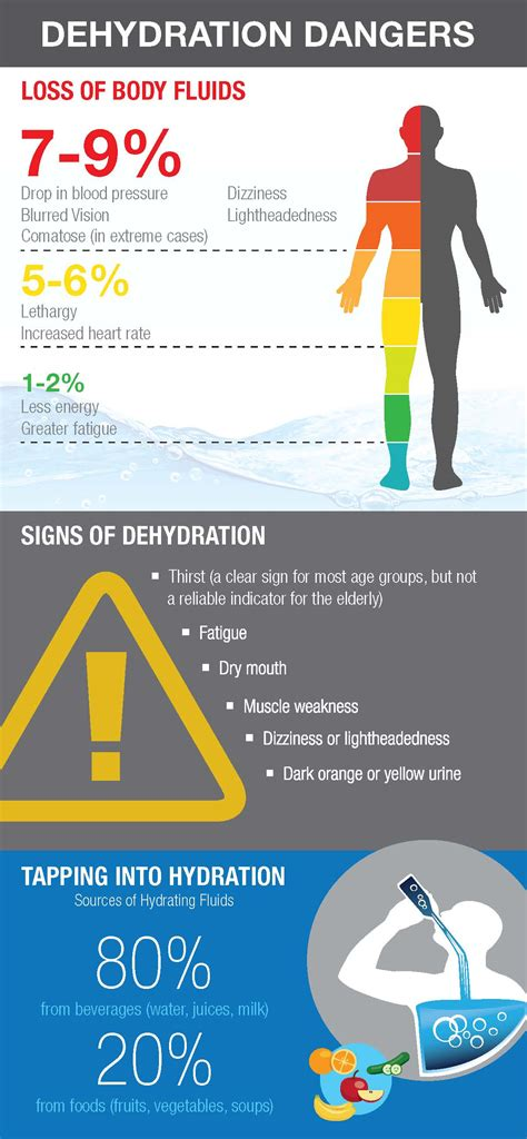 dehydration of danger driving while dehydrated infographic