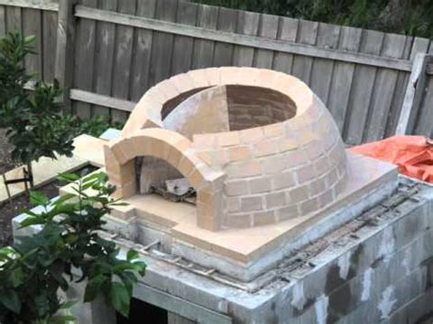 plans   build wood oven  pizza  easy
