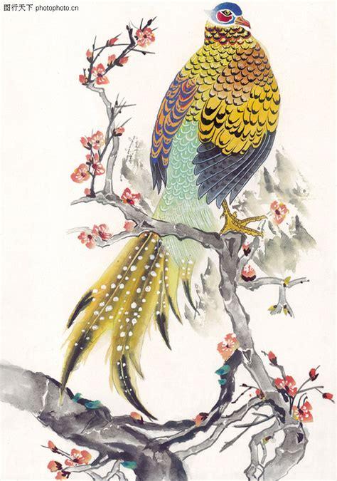design batik phoenix 吉祥鸟0043 吉祥鸟图 中国国画图库
