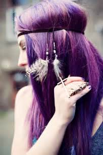purple hair styles images