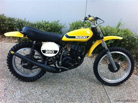 Suzuki Cz 250 1973 Suzuki Tm 250k Chion Bike Showcase Vintagemx