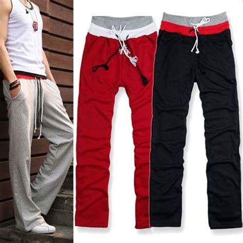 Joger Sport Size 5 Korean Men S Jogger Casual Trousers 5 Size Mu874