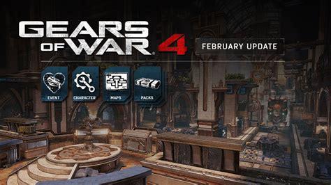 disponibile il nuovo aggiornamento di febbraio per xbox one gears of war 4 aggiornamento di febbraio disponibile