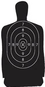 B 27 Silhouette Target Dimensions » Home Design 2017