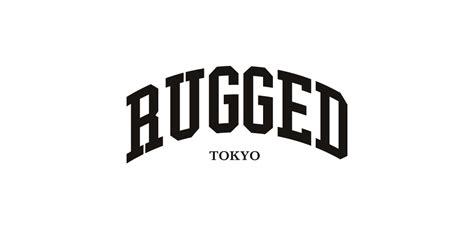 rugged logo rugged ラギッド shop