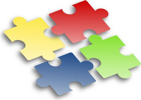 clipart jigsaw puzzle 2