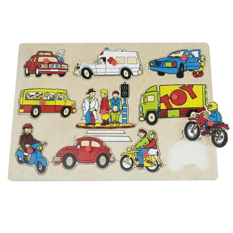 Puzzle Knob Kayu Abjad Kecil Mainan Kayu Edukatif Anak Tk Paud wooden puzzle with knob transportation riang toys