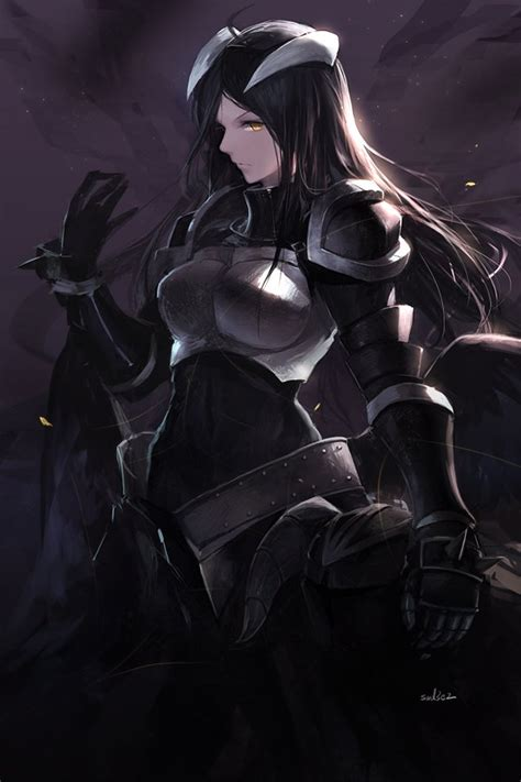 R Anime Overlord by Fanart Albedo By Swd3e2 Overlord Anime