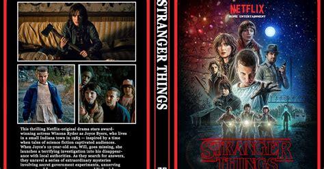 bioskopkeren stranger things season 1 stranger things season 1 dvd cover cover addict free