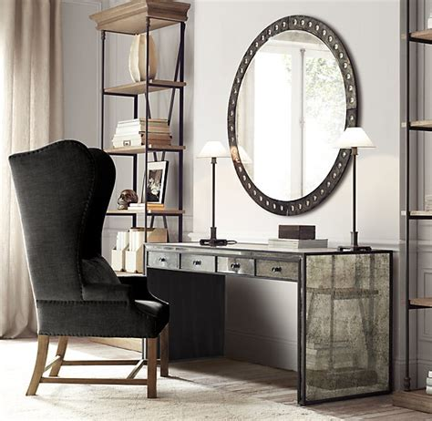 Restoration Hardware Vanity Table Restoration Hardware Mirrored Desk Vanity Makeup Desk Restoration Hardware
