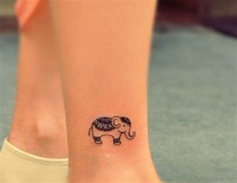 small leg tattoo 34 superb elephant tattoos on leg