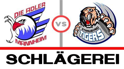 adler mannheim vs straubing tiger 01 11 13 schl 228 gerei