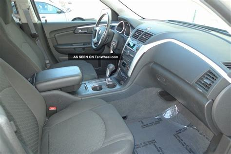 chevy traverse third row seating awd with third row autos post