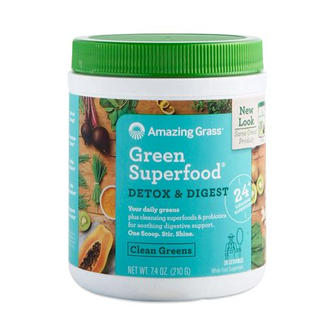 Pros Cons Green Superfood Detox detox digest green superfood powder thrive market