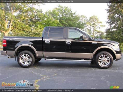 2005 Ford F150 Lariat by 2005 Ford F150 Lariat Supercrew 4x4 Black Black Photo
