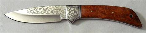 blade engraving gallery engraved knives
