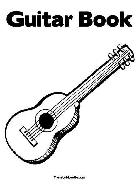 acoustic guitar coloring page guitar coloring pages az coloring pages