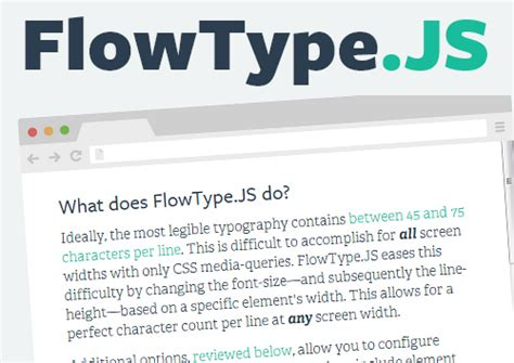 typography js useful html5 javascript tools and jquery plugins resources graphic design junction