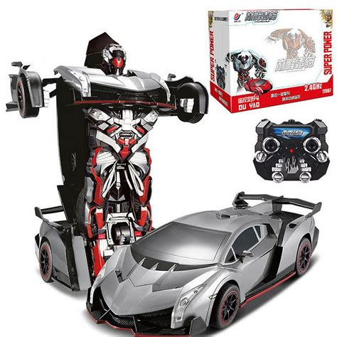 lamborghini veneno transformer lamborghini veneno rc transformer car battle auto bot 2 4