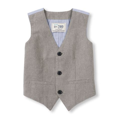 toddler boy oxfords toddler boys oxford dressy vest the children s place