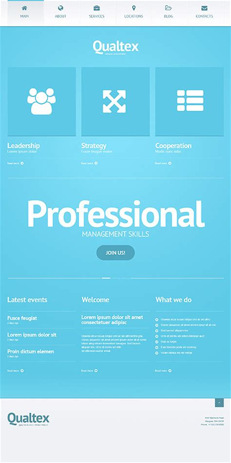 wordpress layout manager 25 wordpress business themes in 2016