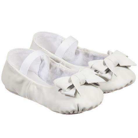 Baby Shoes Prewalker Ella White bloch baby white ayva pre walker shoes childrensalon
