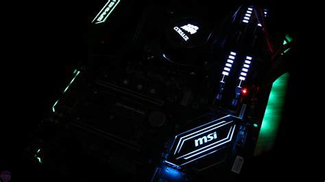 Msi Z270 Gaming Pro Carbon msi z270 gaming pro carbon review bit tech net