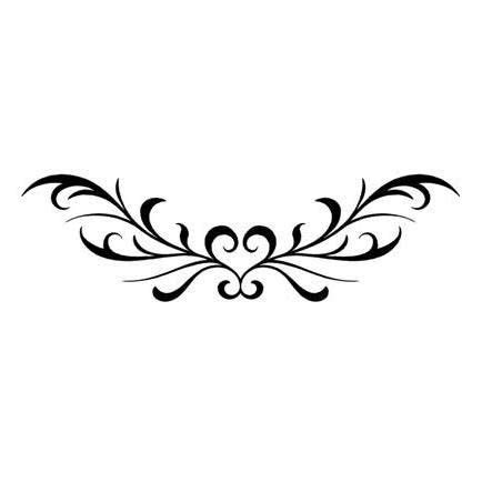 lower back heart tattoo designs 23 best designs for lower back images
