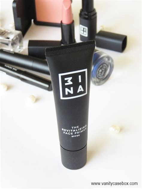 3ina Eye Primer 3ina makeup the revitalizing primer review swatches