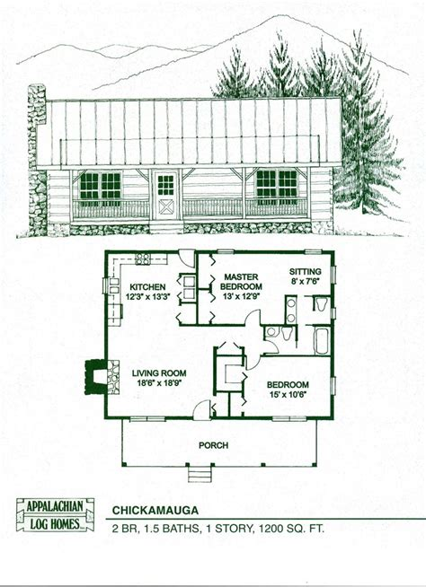 log home floor plans canada