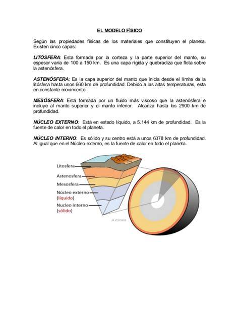 Resumen Y Sus Caracteristicas by Resumen Caracter 237 Sticas De Las Capas De La Tierra