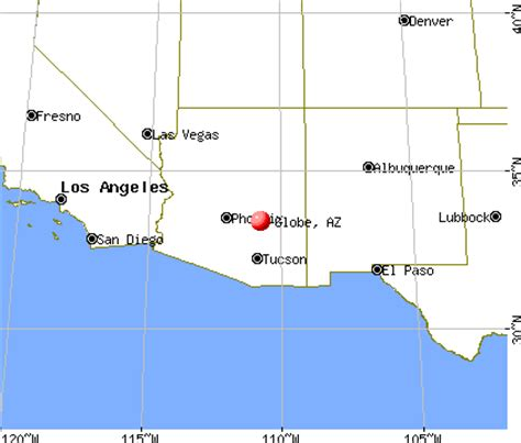 globe az maps globe arizona map arizona map